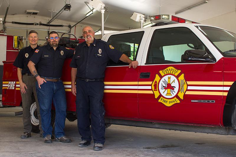 TransCanada Grant Funds PVFD Wildland Firefighting Truck